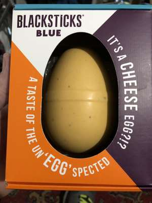 "Blackstick's blue ""cheese ""egg now only £1 in store or 37p reduced @ Asda - Redditch"
