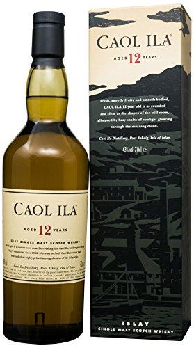 Caol Ila 12 year old Islay single malt whisky 70cl (temp OOS)  @ Amazon - £37