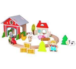 Chad Valley Farm Train Set £8.99 @ Argos Ebay (Free Delivery)