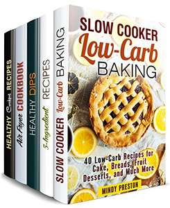 Stress-Free Cookbook Box Set (5 in 1): Over 150 Easy and Creative Breakfast, Dinner and Dessert Recipes to Save Your Time (One Pan & Easy Meals) Kindle Edition