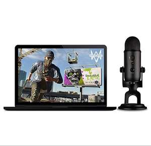 Blue Blackout Yeti + Watch_Dogs 2 PC: The Ultimate Streamer Bundle £73.21 @ Amazon
