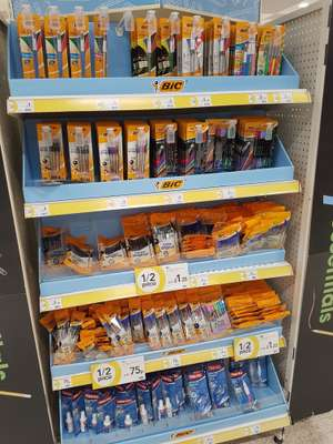 Bic stationery £1 @ WIlko