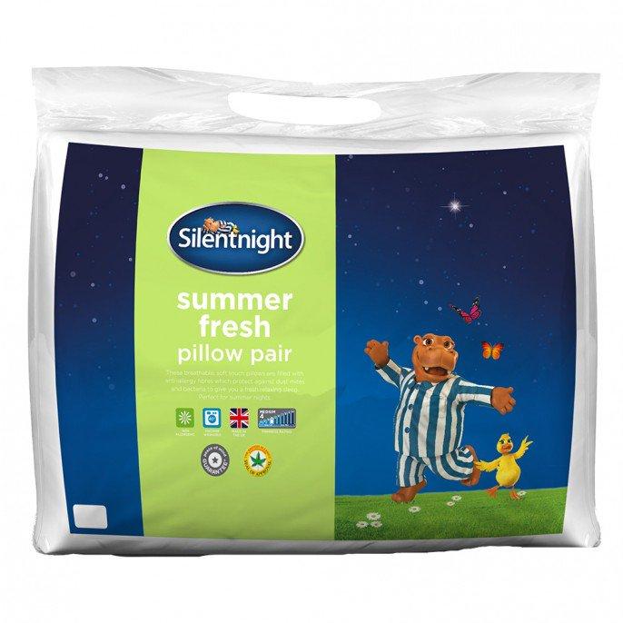 SILENTNIGHT SUMMER FRESH PILLOW PAIR £7.99 @ poundstretcher