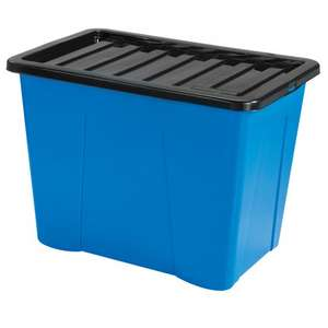 80L COLOUR BOX BLUE, RED OR GREEN £5.99 @ poundstretcher