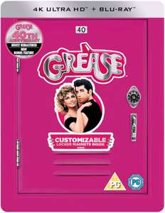Grease 40th Anniversary - 4K Ultra HD - Limited Edition Steelbook Blu-ray £19.99 / £20.98 delivered @ Zavvi