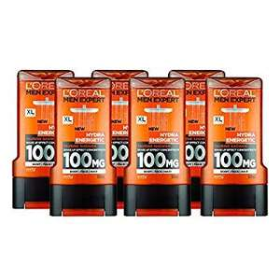 6 x 300mls of L'Oreal Men Expert Hydra Energetic Shower Gel £9 prime / £13.75 non prime @ Amazon