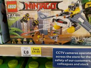 LEGO Ninjago 70609 Manta Ray Bomber £8 in-store at Tesco (Plymouth)