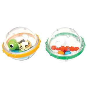 Munchkin Float and Play Bubbles Bath Toy - Pack of 2 £4 prime / £7.99 non prime @ AMAZON