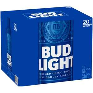 Bud light case of 20 20x330ml for £8.99 @ b&m instore