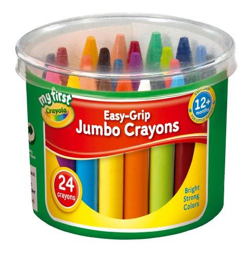 My First Crayola 24 Jumbo Crayons  ADD ON ITEM £2.09 @ AMAZON