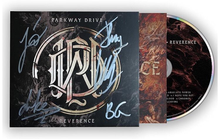 Parkway Drive new album signed! £9.99 prime / £11.98 non prime @ Amazon