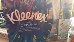 Kleenex original 30x pocket packs reduced to 55p from £5.50 in Tesco (Lincoln)