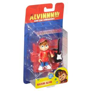 Alvin and chipmunk figures Home Bargains - £1.99 (Christchurch)