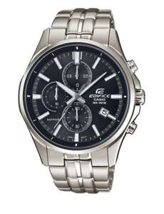 Casio Men's Edifice Sapphire Chronograph Watch, £139 (with code) at H.Samuel