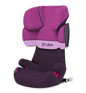 CYBEX Solution X-Fix, Toddler Car Seat Group 2/3, Purple Rain - Purple - £84.99 @ Amazon