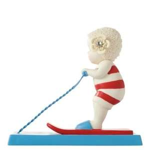 Snow babies porcelain bisque figurine- skiing the wake £6.99 was £19.99 @ internetgift store,free delivery