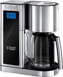 Russell Hobbs 23370 Elegance Digital Coffee Maker-Programmable with 24 Hour Timer, Reusable Filter, Hot Plate and 10 Cup Capacity - was £89.30 Now £46.03 @ Amazon