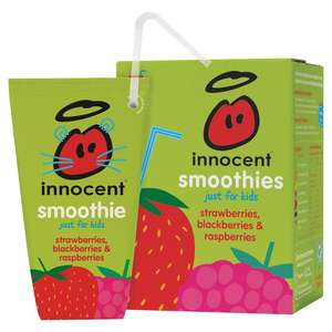 Innocent Smoothies For Kids Multipack - £1.60 for Four (Half Price) in Tesco (In Store and Online)