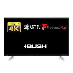"49"" UHD 4K REFURBISHED  Bush Smart LED TV With Freeview Play Tuner - £259 @ eBay (Seller: primeretailing)"