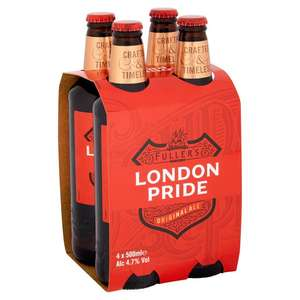 4 X 500ml Fuller's London Pride - £5 @ Ocado