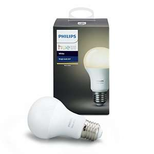 Philips Hue White Single LED E27 Light Bulb 9.5W @ Amazon - £11.89 Prime / £15.59 non-Prime