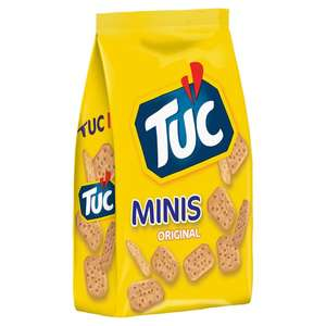 Tuc Minis Original 200g - 3 packets for just £1.00 at Heron Foods