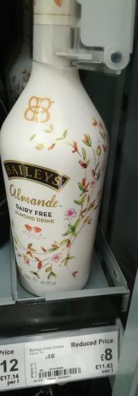 Bailey's Almonde 700ml £8 instore Asda (Clydebank)