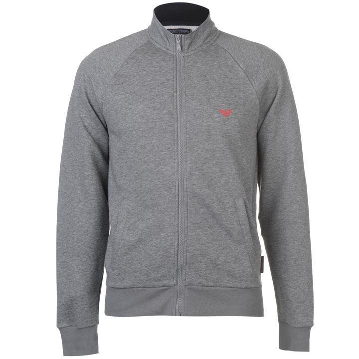 EMPORIO ARMANI Zip Through Logo Jacket @ USC for £28.99 delivered