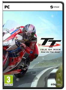 TT  Isle of man - Ride on the Edge  pc game £17.99 / £17.09 (fb code) at CD Keys