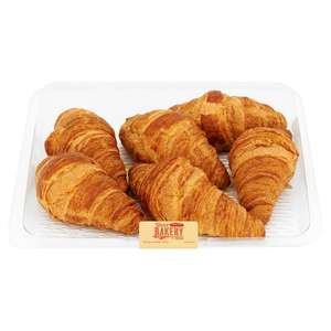 Tesco All Butter Croissant 6pack now £1