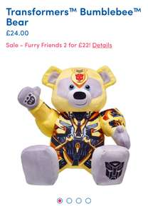 Build a bear Sale 2 for £22 & more Sale offers plus Free Shipping today only. Bears from £6