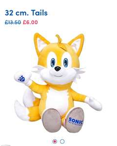 Over 50% off Tails and Free delivery £6 @ Build a bear Today only