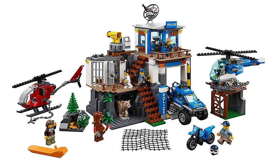 Lego City 60174 Mountain Police Headquarters now £47.98 @ Asda