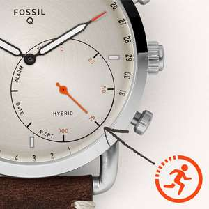 HYBRID SMARTWATCH – Q COMMUTER STAINLESS STEEL at Fossil for £95