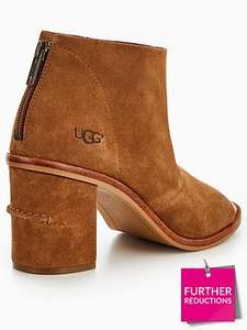 Very online deal womens ugg Ginger Peep Toe Ankle Boot - Chestnut £62.50 @ Very - Free c&c