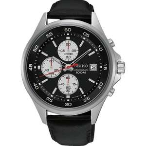 Mens Seiko Chronograph Watch - £90 delivered with code SALE10 @ TheWatchHut