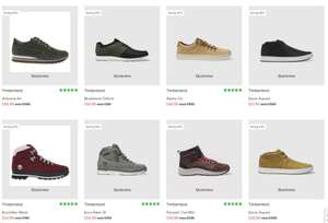 Large Timberland Sale @ Schuh online.