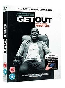 Get Out Blu-ray £6.00 (Prime) £7.99 (Non Prime) @ Amazon
