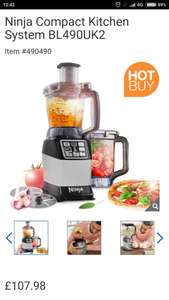 Ninja Compact Kitchen System BL490UK2 £107.98 @ Costco down from £149.95