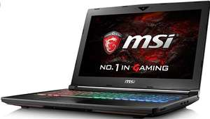 MSI GE63VR 7RE (Intel i7 Quad Core / 16GB RAM / 256GB SSD 1TB HDD / GTX1060 / SteelSeries RGB Keyboard) + FREE MSI Bundle Pack £1299.97 Delivered @ Box.co.uk