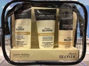 John Freda Sheer blonde travel bag 34p (3 for 2) @ Boots