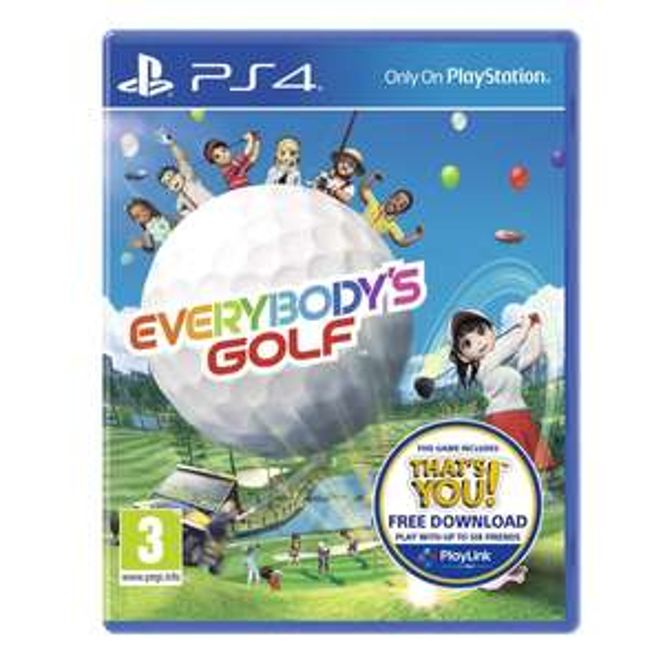 Everybodys Golf PS4 £14 Smyths Toys