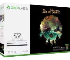 Xbox One S 1TB - Sea of Thieves Bundle + Free Game(Pubg or Far Cry 5 or Forza 7) - Only £229 @ Microsoft