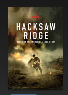 Hacksaw Ridge iTunes HD £3.99