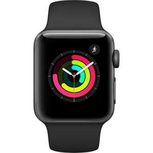 CHEAPEST! Apple Watch Series 3 - 38mm Space Gray Aluminium Case with Black Sport Band - £244.99 using voucher @ eglobalcentraluk