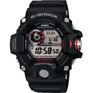 Casio Mens G-Shock Rangeman Triple Sensor Radio Controlled Solar Powered Watch, £149 at watches2U