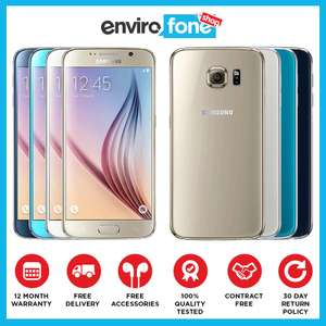 (Refurbished) Samsung Galaxy S6 32GB platinum gold (refurbished good) £139.98 @ envirofone eBay