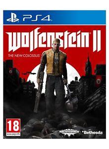 [PS4] Wolfenstein II - £10.99 (As New) - eBay/Boomerang