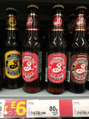 Brooklyn Half Ale - 80p - Asda Chandlers Ford