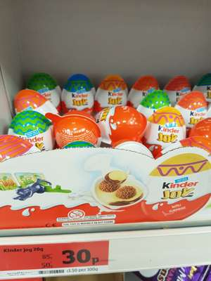 Kinder Joy 30p @ Sainsbury's